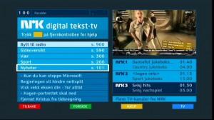 Digitalt tekst-tv.