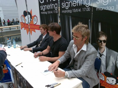 a-ha - signing Oslo