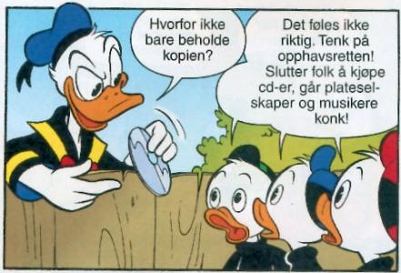 Donald Duck - en pirat
