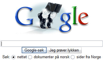 Michael Jackson på Google