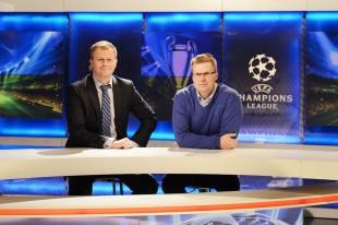 Viasat-sjef Vegard K. Drogseth (til venstre) har inngått utvidet distribusjonsavtale med Canal Digital Kabel-TV, ved Strategidirektør Haakon Li Dragland (til høyre).