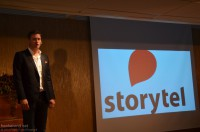 Jonas Tellander, sjef for Storytel i Sverige.