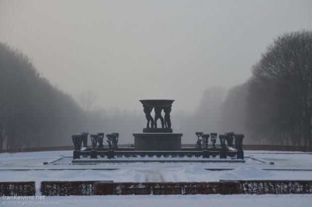 Vigelandsparken - januar 2015