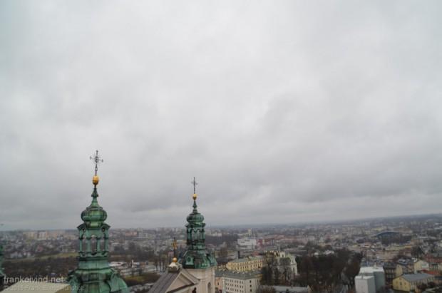 Utsikt over Lublin