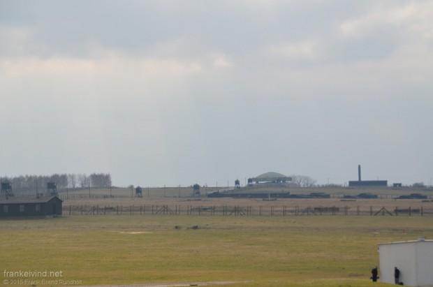 Konsentrasjonsleiren Majdanek som ligger like ved Lublin.