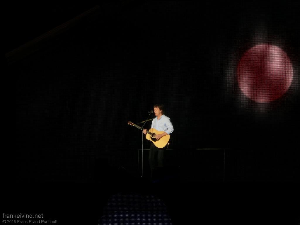 Paul McCartney - Oslo 2015