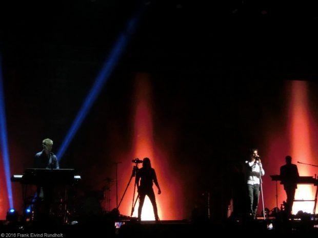 a-ha i Oslo Spektrum 1. mai 2016