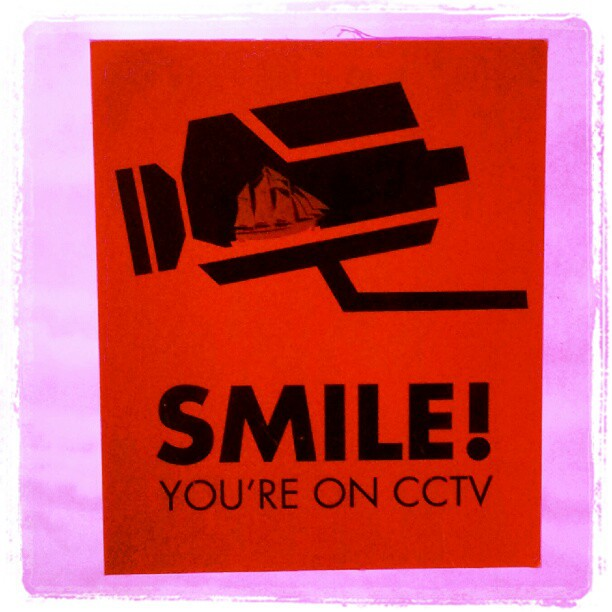 "Instagram: ""SMILE! You're on CCTV"""