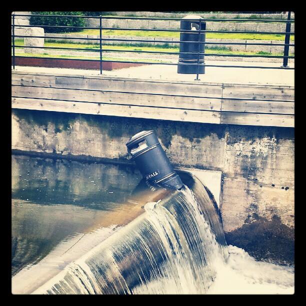 Instagram: Det er et søppelproblem i Akerselva