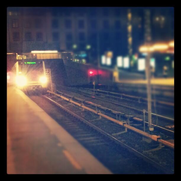 Instagram: #majorstuen #tbane #metro #night #underground