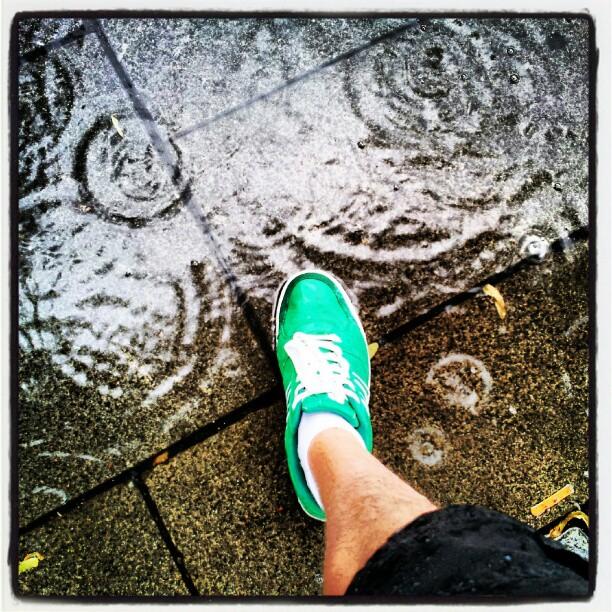 Instagram: Det regner og det regner