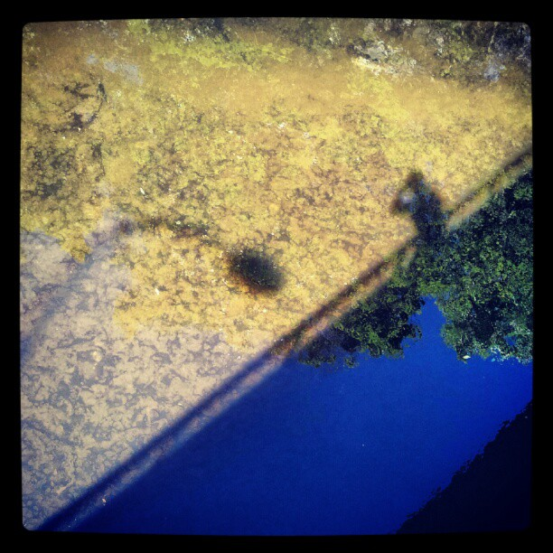 Instagram: #akerselva #me #skygge #shadow #shadows #silhouette #reflection #reflections