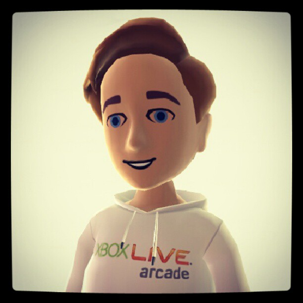 Instagram: My Xbox Live avatar