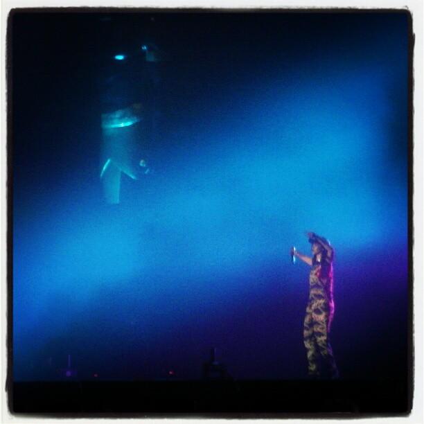 Instagram: Rihanna på Kollenfest