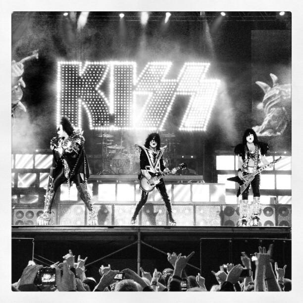 Instagram: KISS på Kollenfest