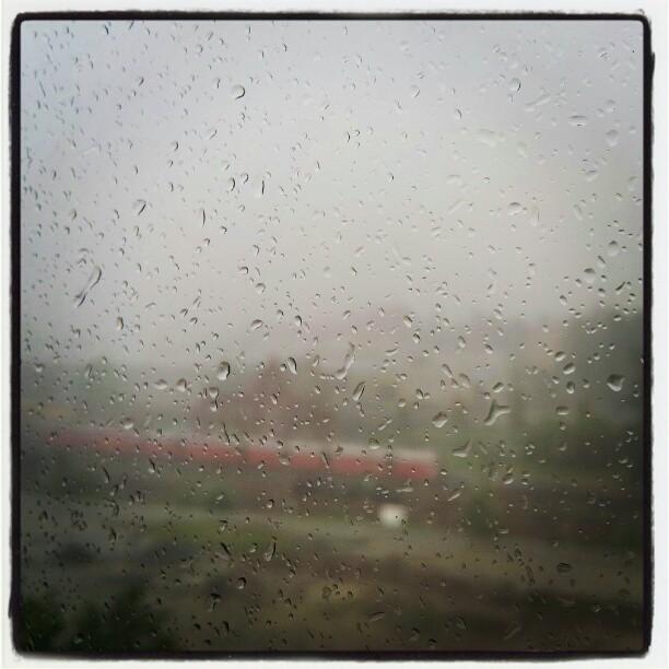 Instagram: Regn og tordenvær i Oslo