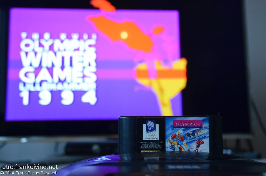 Review: Olympic Winter Games Lillehammer 1994 (Sega Mega Drive/Genesis