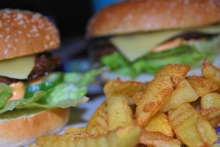 En god hamburger er ikke å forakte.
