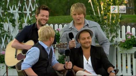 TV2 HD - Allsang på Grensen - Hallelujah gutta -  Espen Lind, Kurt Nilsen, Alejandro Fuentes og Askil Holm