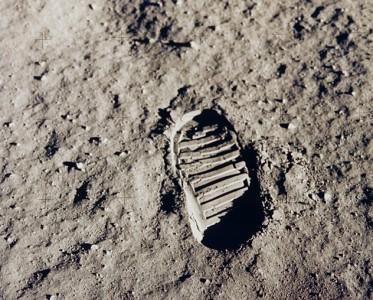 Fotavtrykket på Månen