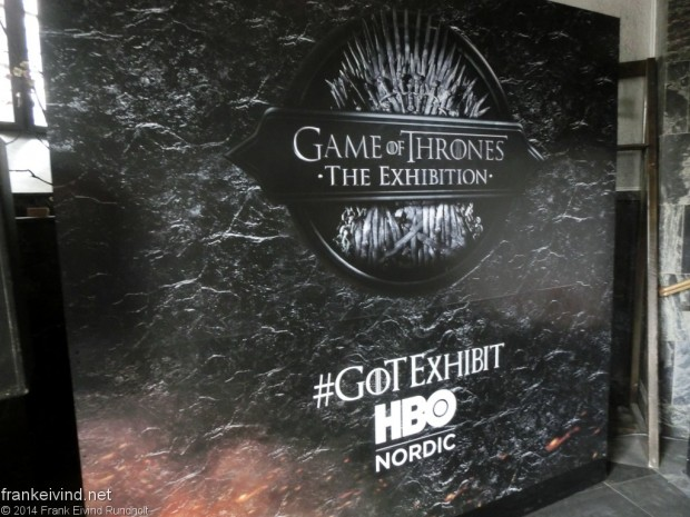 Game of Thrones exhibition Oslo 2014